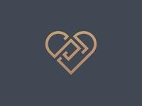 Initial SD Love Logo
