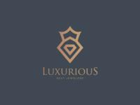 Luxurious Jewelers Logo