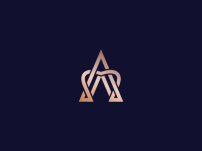 Luxury Initial A Logo