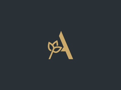 Luxury A Logo