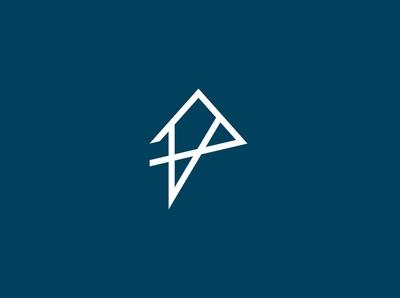 Abstract P House Logo