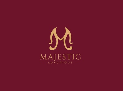 Luxurious M Logo