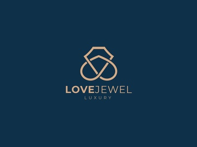 Luxury Love Jewelry Logo