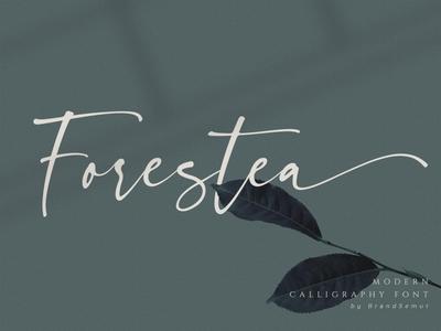 Forestea - Classy Script Font