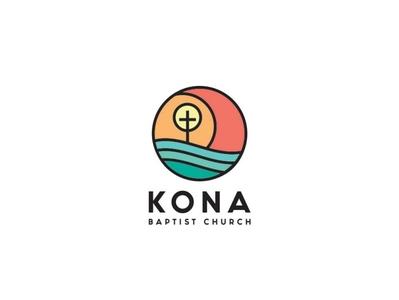 KONA Baptist Church hawaii religion branding logo