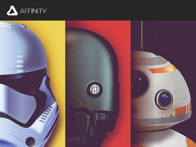 Star Wars - 3 Portrait