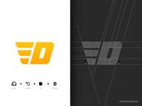 D / logo