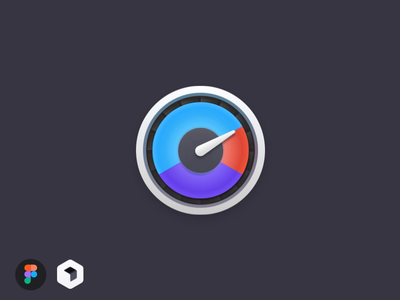 iStat Menus icon / Motion animation icon motion