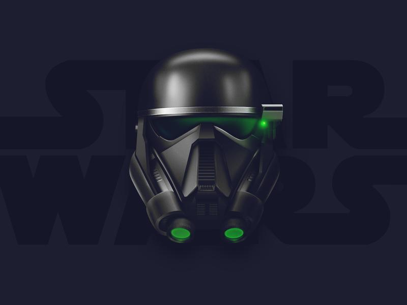 Death Trooper affinity designer star wars illustration