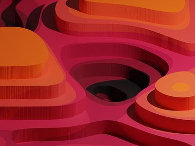 3D Textures | Blender black orange pink textures texture blender 3d blendercycles blender3dart blender3d blender 3d