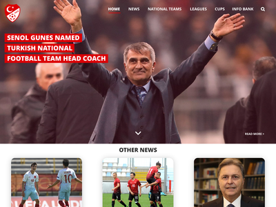 Experiment | TFF simple sports football minimalism interface visual experience user interface ui website web
