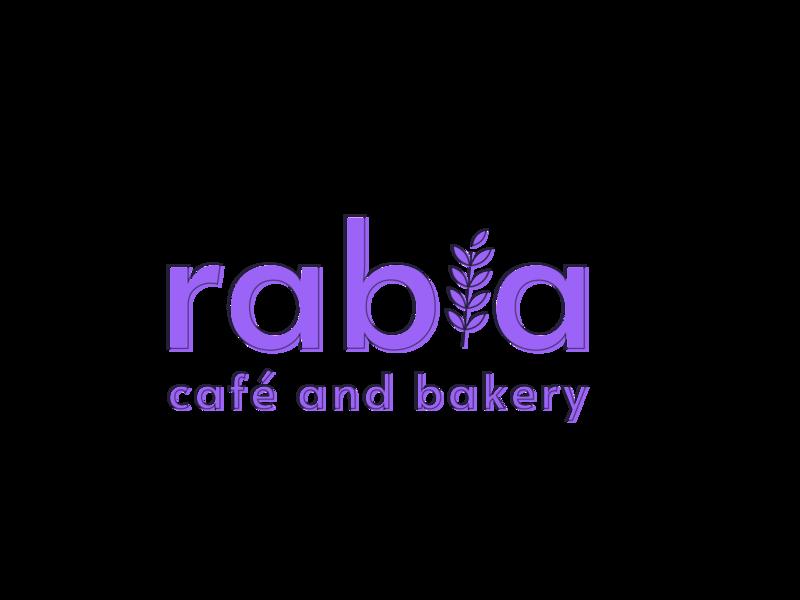 Logo Experiment | rabia café and bakery bakery café cafe purple coffee food logo design brand design brand