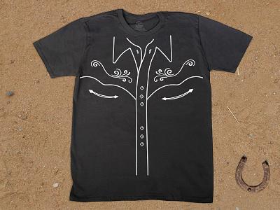 Western Tee tee western tshirt shirt vintage