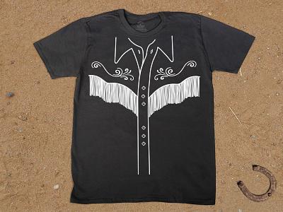 Fringe with Benefits fringe shirt tshirt tee western
