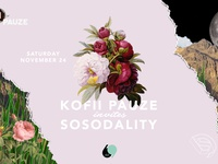 Kofiipauze invites Sosodality event banner