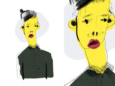 Leo childrens book boy design simple procreate minimal drawing clean illustrator illustration abstract