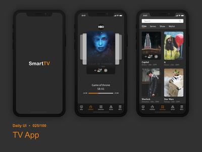 Daily UI 025 Tv App
