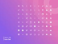 Daily UI 055 Icon Set