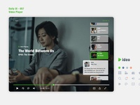 Daily UI 057 Video Player