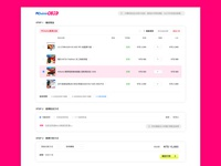 Daily UI 058 Shopping Cart / PChome Shopping Cart Redesign