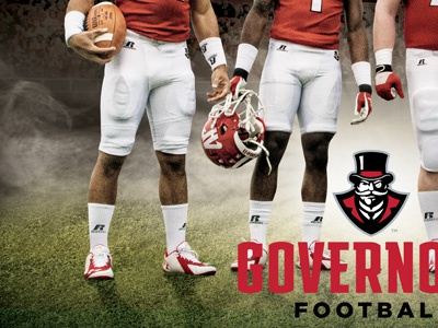 APSU Football Poster (In Progress) austin peay governors football poster gotham