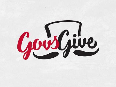 Govs Give logo peay austin governors logo give govs