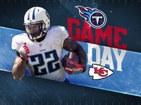 Titans Gameday Concept Graphic