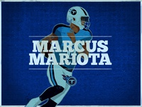 Marcus Mariota Illustration