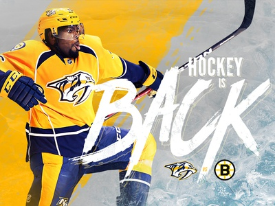 Hockey Game Day Graphic