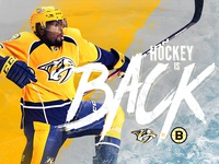 Hockey Game Day Graphic