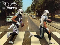 Titans in London Graphic