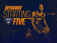 Starting 5 Graphic