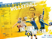 Morehead State Volleyball Poster