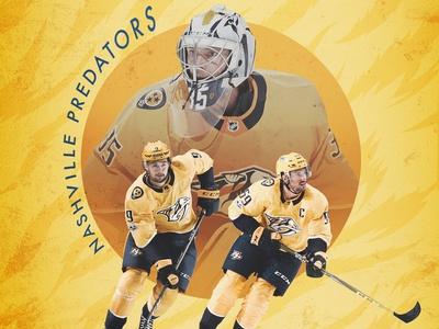 Nashville Predators Phone Wallpaper