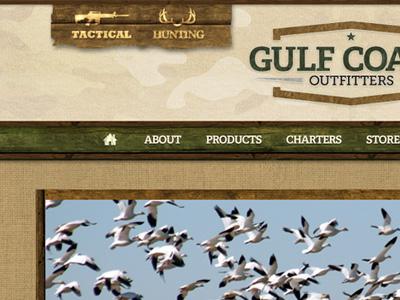 Gulf Coast Outfitters web