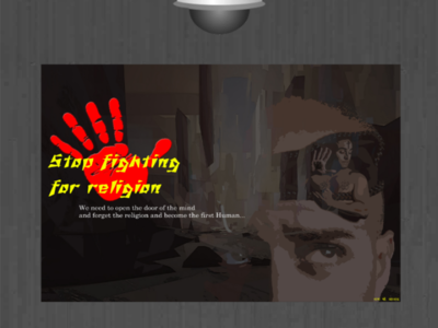 Stop fighting for religion
