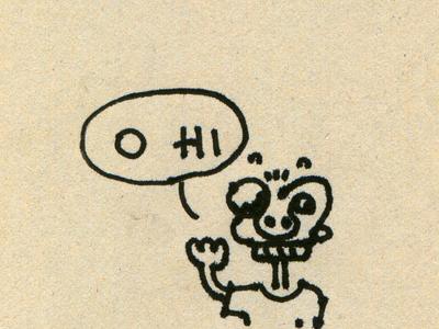 O Hi illustration
