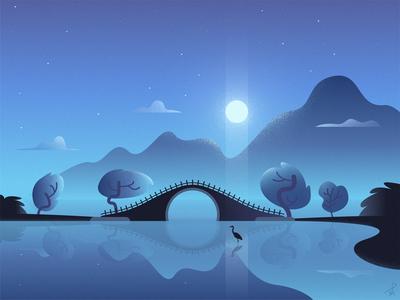 The Moon Bridge
