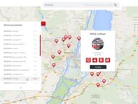 Google maps app for carwash company Ehrle