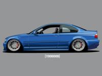 My BMW e46 Coupe