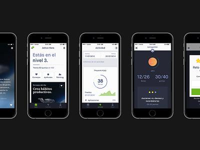 Kiply user interface ios app mobile ui iphone multi-platform maison droid  serif