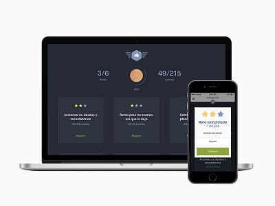Kiply — Challenges ios interface user droid  serif maison multi-platform iphone ui mobile app