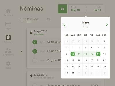 Datepicker 🙄 selector simle webdesign layout ui design app datepicker
