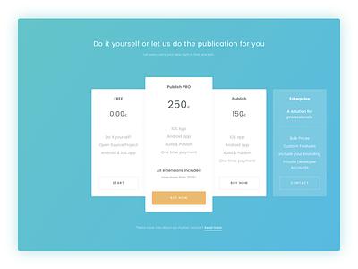 💸 Pricing Table Freebie free sketch freebie website design web ui typography pricing branding