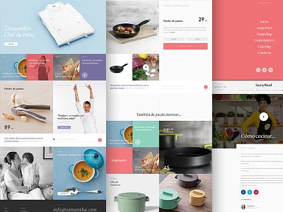 Samantha Vallejo Nagera - Website masterchef branding typography ui web design website