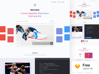 Landing Page — Freebie website web product landing app