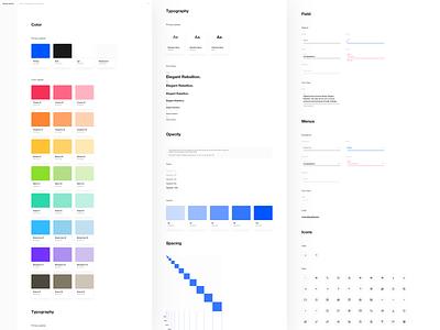 Design System Kit (freebie) sketch freebie design system design
