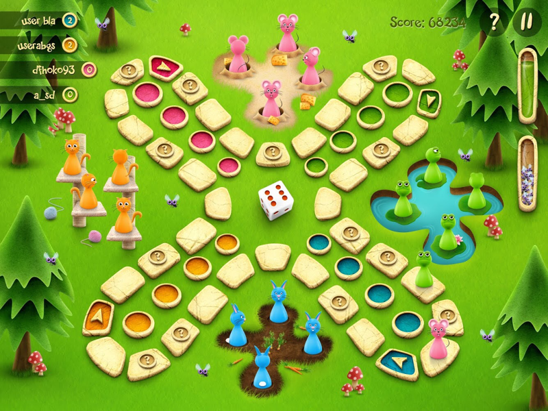 Dont Get Angry Ludo Mobile Game By Iliana Stavreva Dribbble