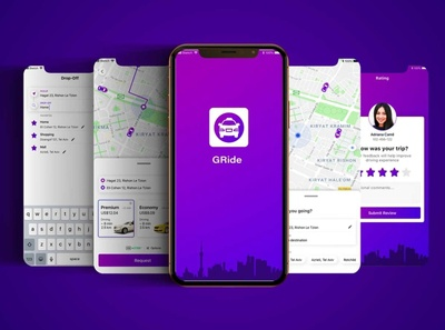 Gride - Get a taxi instantly