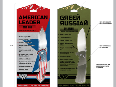 Knife Packaging Examples